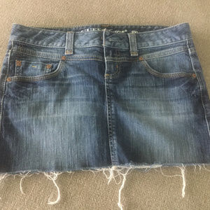 Guess Jeans Denim Mini Skirt